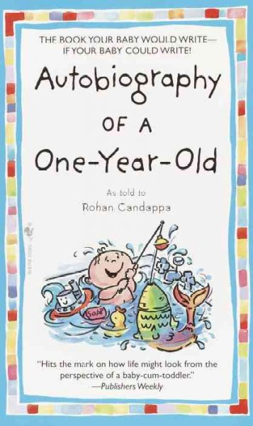 Autobiography of a One-Year-Old cover