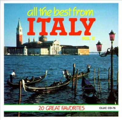 The Best Of Italy Vol 2 cover