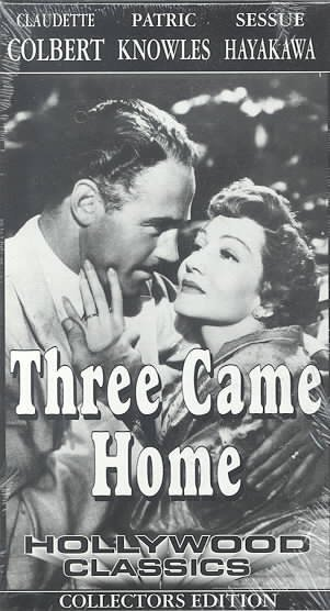 Three Came Home [VHS] cover