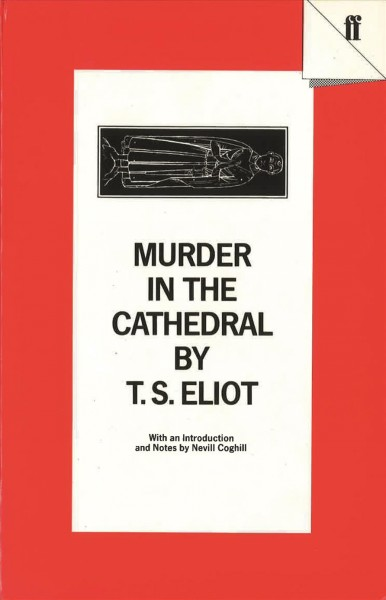 Murder in the Cathedral (Faber Drama) cover