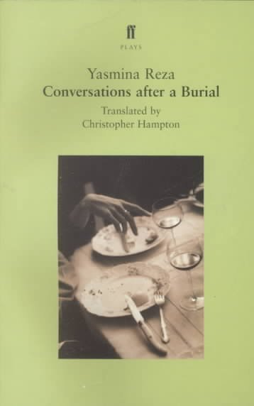 Conversations After a Burial: A Play (Faber Plays) cover