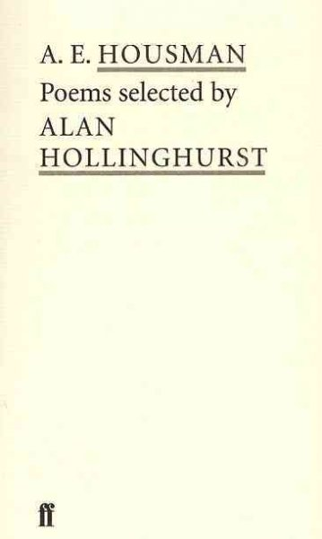 A. E. Housman (Poet to Poet: An Essential Choice of Classic Verse) cover