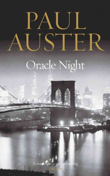 Oracle Night cover