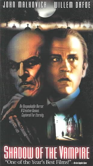Shadow of the Vampire [VHS] cover