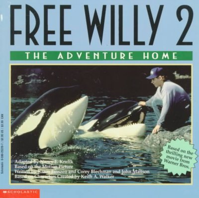Free Willy 2: The Adventure Home cover