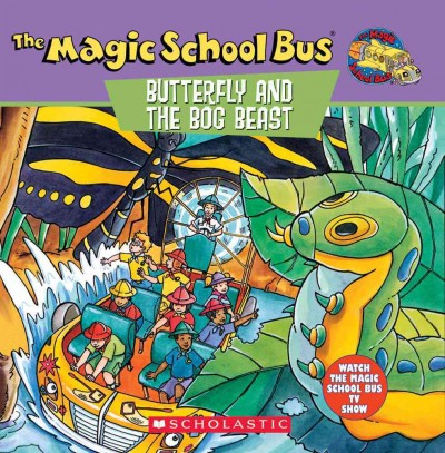 The Magic School Bus: Butterfly And The Bog Beast, The cover