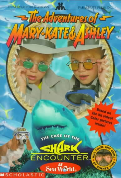 The Case of the Shark Encounter: A Novelization (New Adventures of Mary-kate and Ashley Olsen) cover