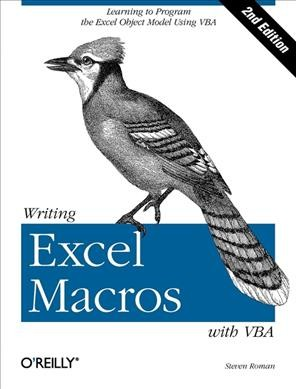 Writing Excel Macros with VBA, 2nd Edition cover
