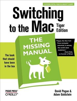 Switching to the Mac: The Missing Manual, Tiger Edition cover