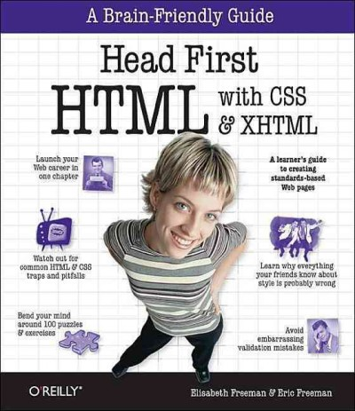 Head First Html With CSS & XHTML cover