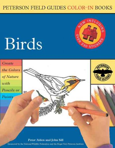 Birds (Peterson Field Guide Color-In Book) cover