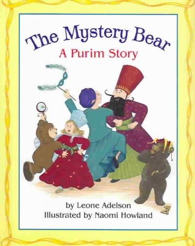 The Mystery Bear: A Purim Story cover