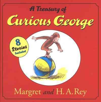 A Treasury of Curious George cover