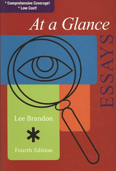 At a Glance: Essays cover