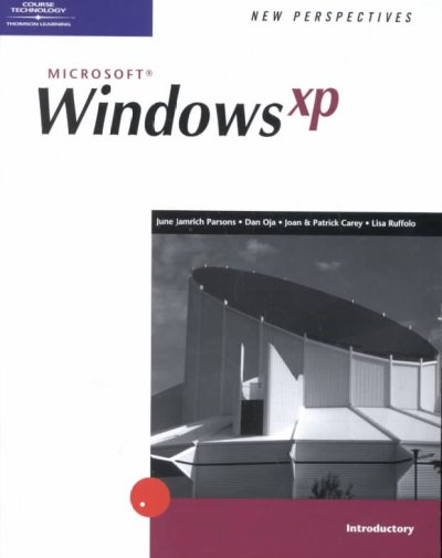 New Perspectives on Windows XP - Introductory (Available Titles Skills Assessment Manager (SAM) - Office 2007) cover