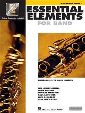 Essential Elements Band with EEi: Comprehensive Band Method: B Flat Clarinet Book 1