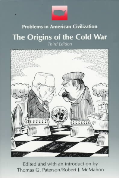 The Origins of the Cold War (Problems in American civilization) cover
