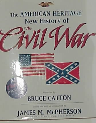 The American Heritage New History of the Civil War cover