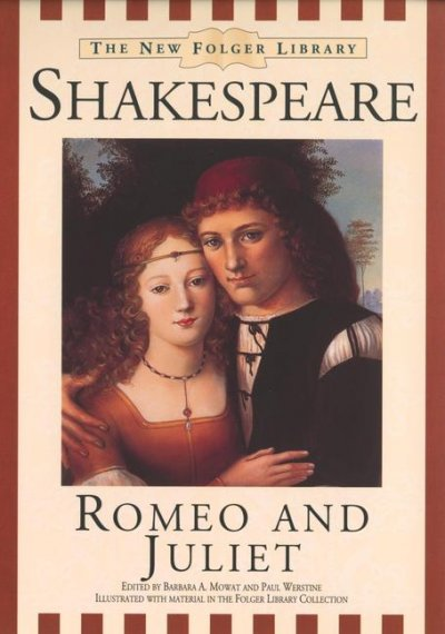 Romeo and Juliet (New Folger Library Shakespeare) cover