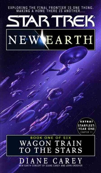 Wagon Train to the Stars (Star Trek No 89, New Earth Book One of Six) cover