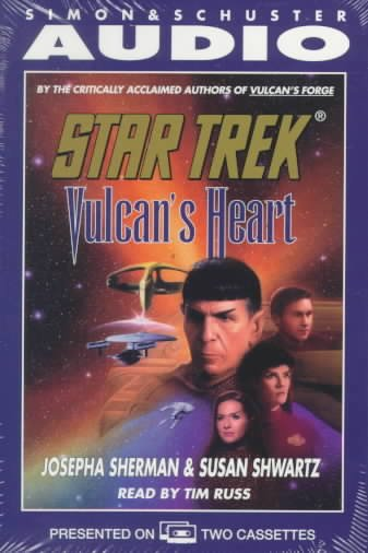 Star Trek: Vulcan's Heart (Star Trek: The Original Series) cover
