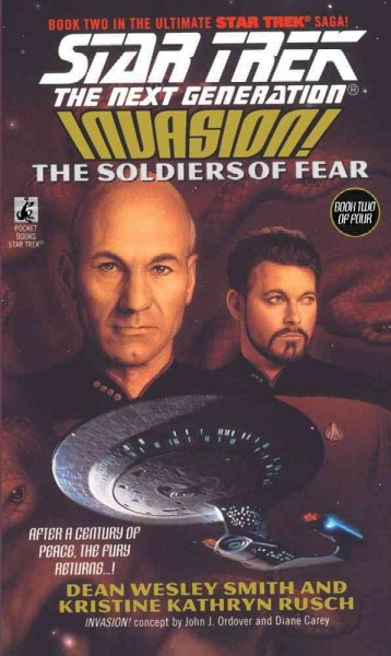 Invasion: The Soldiers of Fear (Star Trek: The Next Generation, No. 41) cover