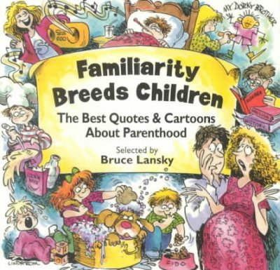 Familiarity Breeds Children cover