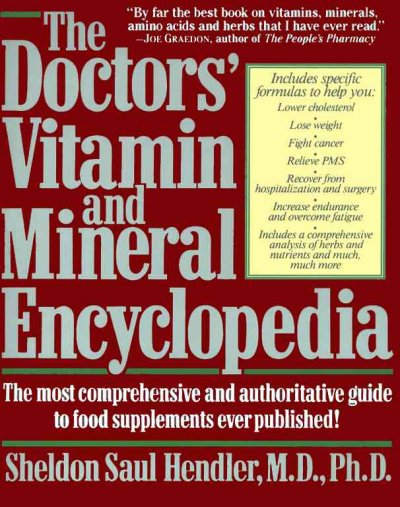 The Doctor's Vitamin and Mineral Encyclopedia cover
