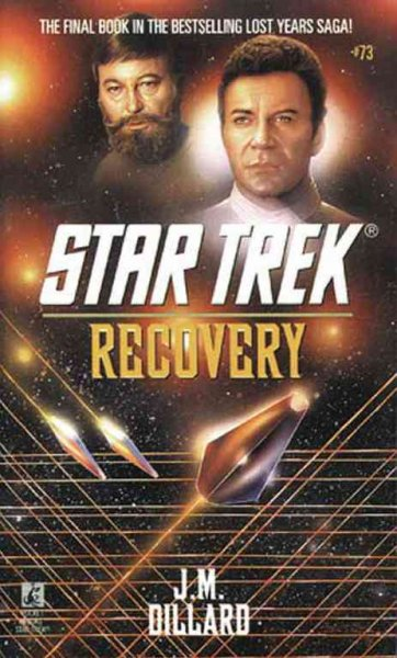 Recovery (Star Trek, Book 73) cover