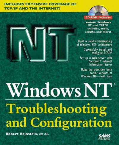Windows NT Troubleshooting & Configuring cover