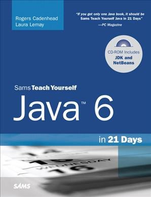 CADENHEAD: STY JAVA 6 IN 21 DAYS _p5 (5th Edition)