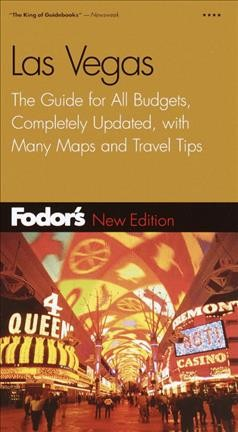 Fodor's Las Vegas, 14th Edition: The Guide for All Budgets, Completely Updated, with Many Maps and Travel Tips (Travel Guide) cover