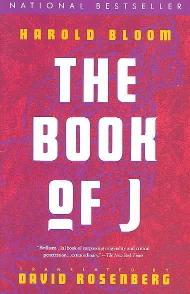 The Book of J cover