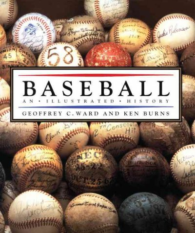 Baseball: An Illustrated History cover