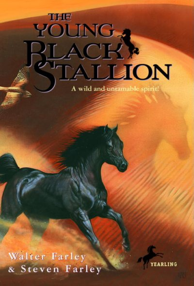 The Young Black Stallion: A Wild and Untamable Spirit! cover
