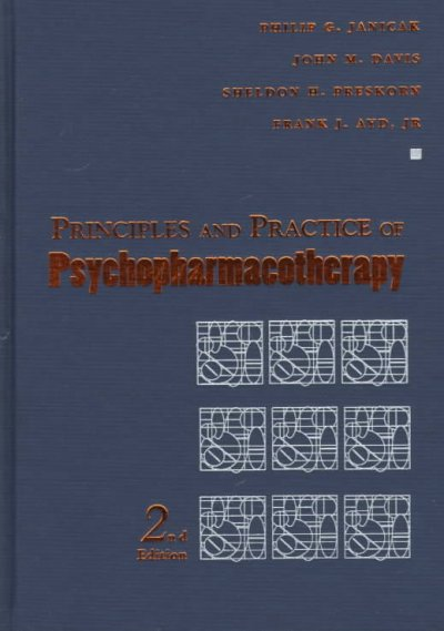 Principles and Practice of Psychopharmacotherapy cover