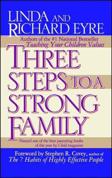 Three Steps to a Strong Family cover