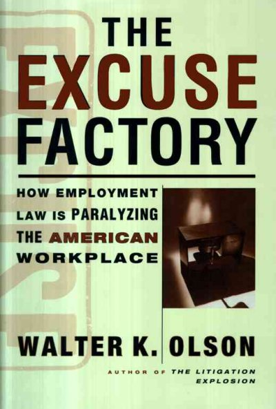 The Excuse Factory cover