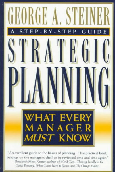 Strategic Planning cover