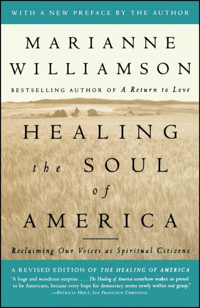 Healing the Soul of America: Reclaiming Our Voices as Spiritual Citizens cover