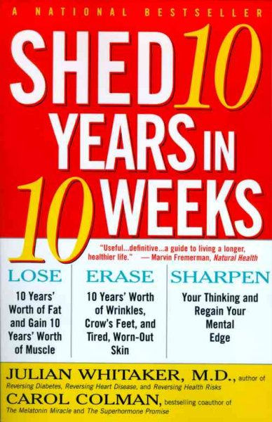 Shed 10 Years in 10 Weeks cover