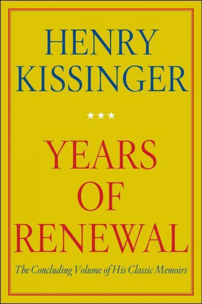Years of Renewal cover