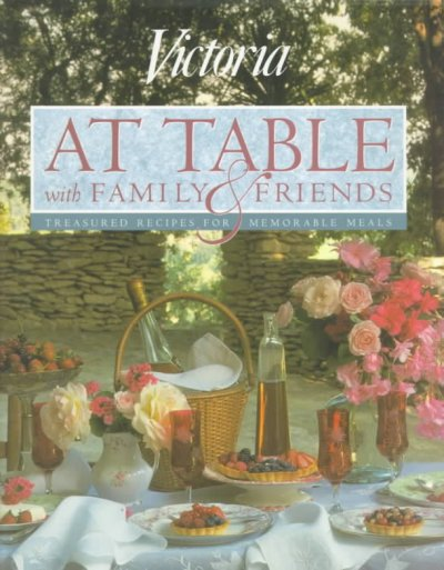 Victoria at Table With Family and Friends cover