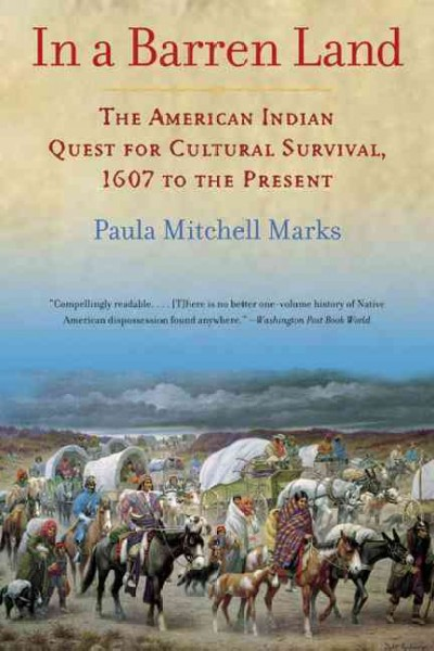 In a Barren Land: The American Indian Quest for Cultural Survival, 1607 to the Present cover