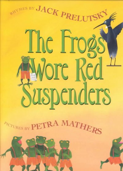 The Frogs Wore Red Suspenders cover