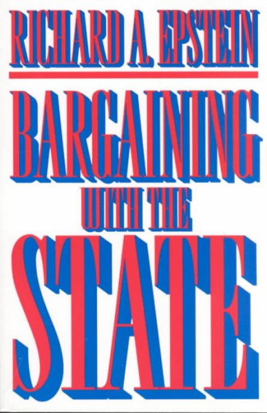 Bargaining with the State cover