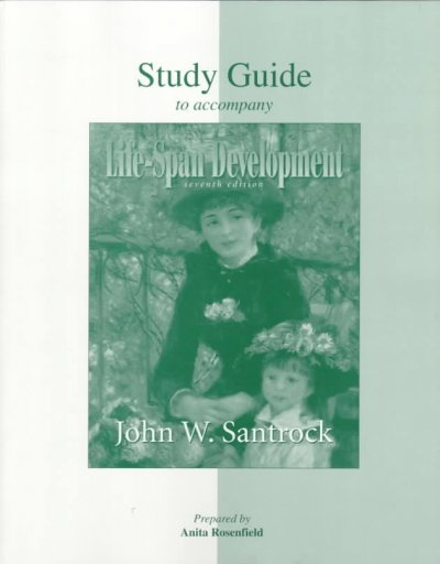 Student Study Guide for use with Life-Span Development cover