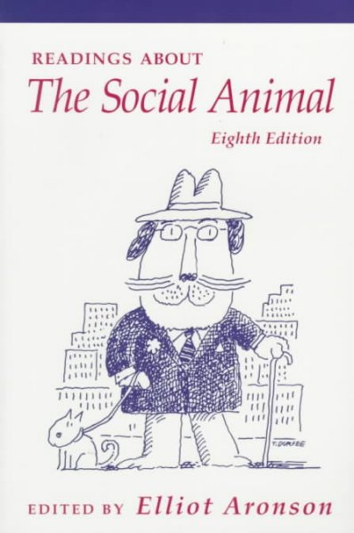 Readings About The Social Animal cover