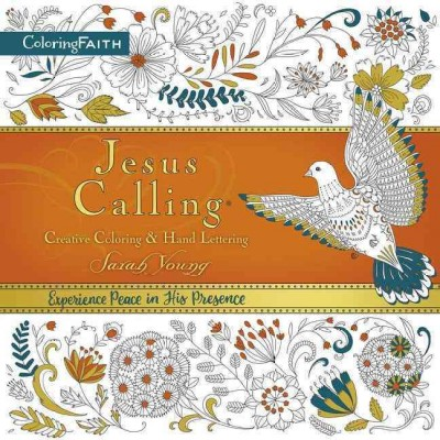Jesus Calling Adult Coloring Book:  Creative Coloring and   Hand Lettering cover