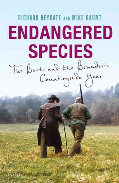 Endangered Species: The Bart and the Bounder's Countryside Year cover